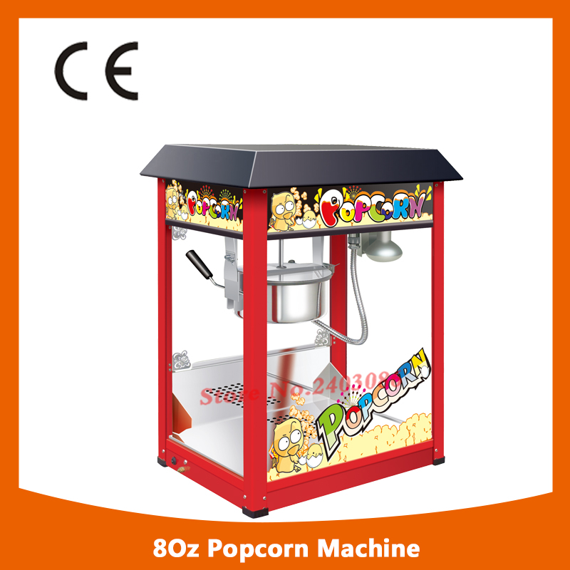 high efficiency catering equipment 80z hot air Electric Automatic Sweet Theater kettle Popcorn making Machine With CE fast food equipment automatic use popcorn machines for sale high quality use popcorn machines for sale caramel popcorn machine
