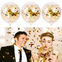 10pcs/set Gold Star Foil Confetti Unicorn Valentine's DayWedding Decoration  Baby Shower Balls Birthday Party Balloons Easter