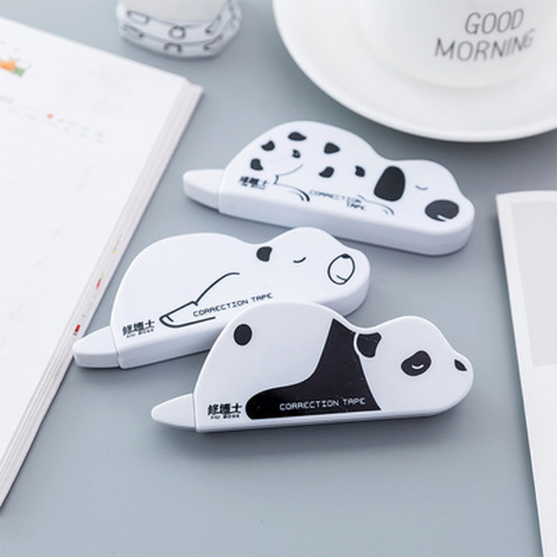1pcs Small Animal Correction Tape Novelty Stationery Kawaii Student Press Correction Tape Kawaii Tapes School Office Supplies