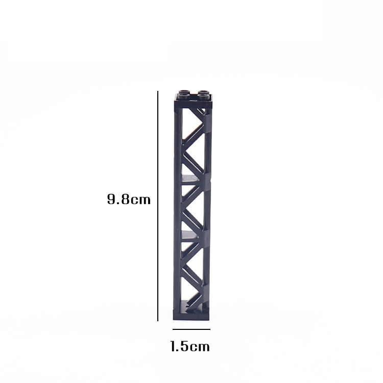 Dubbi diy строительный блок сценария строительства 3,85 ''столб совместим с Legos обучающая игрушка подарок для детей