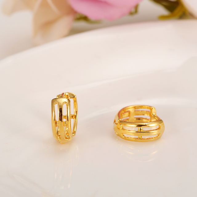 buy aud golden earrings beautiful at