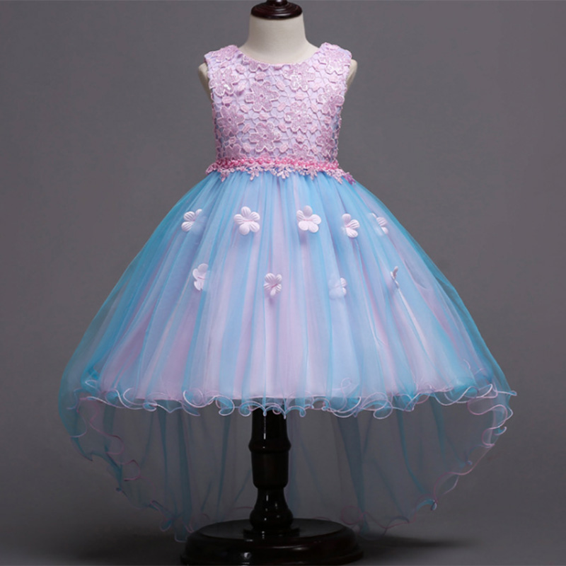 Tulle Wedding Clothes Girl Dress First Communion Dresses Girls Ball Gown For Girls Children Clothing Baby Costume Ladies Dress