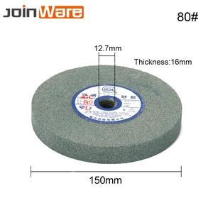 Image 3 - 150mmx12.7x16mm Ceramic Grinding Wheel Resistant Disc Abrasive Disc Polishing Metal Stone Wheel for Bench Grinders 80#