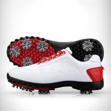 Новые товары в году! Обувь для гольфа; Женская водонепроницаемая обувь; мягкие подвижные Обувные гвозди из суперволокна