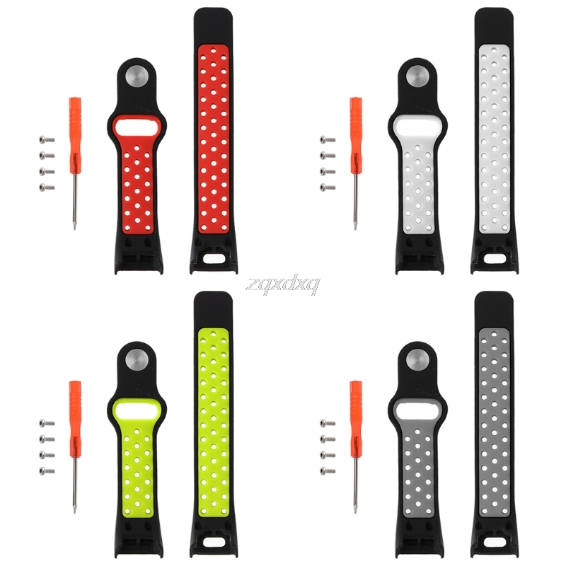 Soft Silicone Sport Replacement Wrist Band Strap For Garmin Vivosmart HR Watch