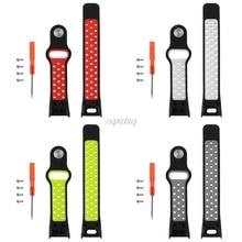 Soft Silicone Sport Replacement Wrist Band Strap For Garmin Vivosmart HR Watch