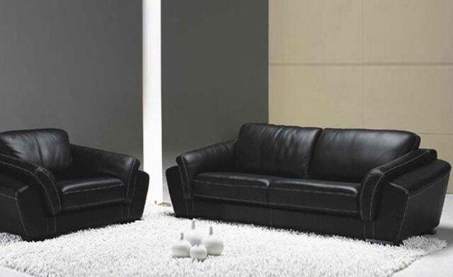 Italian Furniture Sofa 2017 Hot High Quality Genuine Leather Sectional 123 Set Free