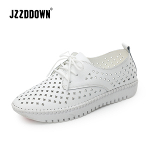 Image 1 - Genuine Leather Women casual sneakers shoes ladies flats canvas shoe female moccasins loafers shoes Wedding footwear