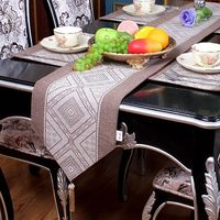 The geometric pastoral Fashion modern Home American Mediterranean country table runner Table flag and Placemat Tea table flag