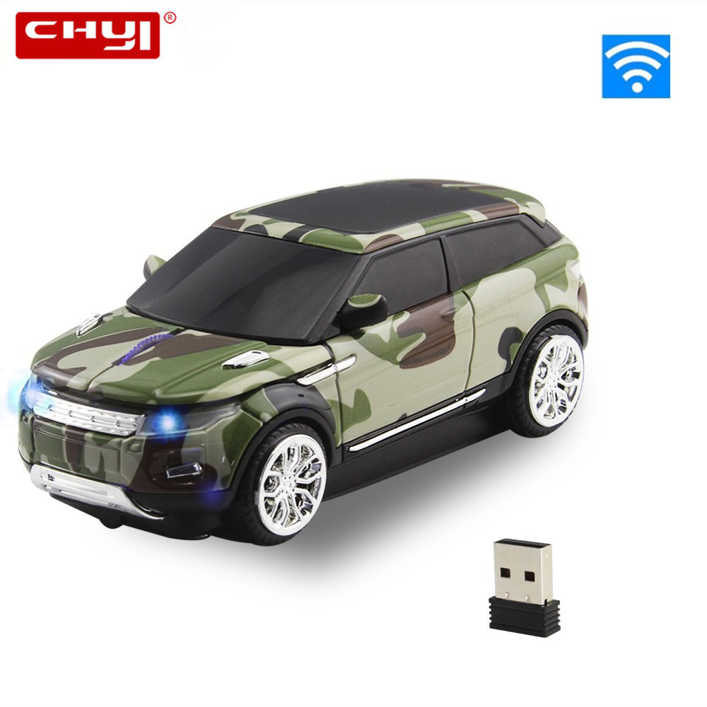 Wireless Mouse Cool SUV Car Mouse 1600DPI USB 3.0 Receiver Optical Computer Mouse 2.4GHz Ergonomic Mice For Laptop PC