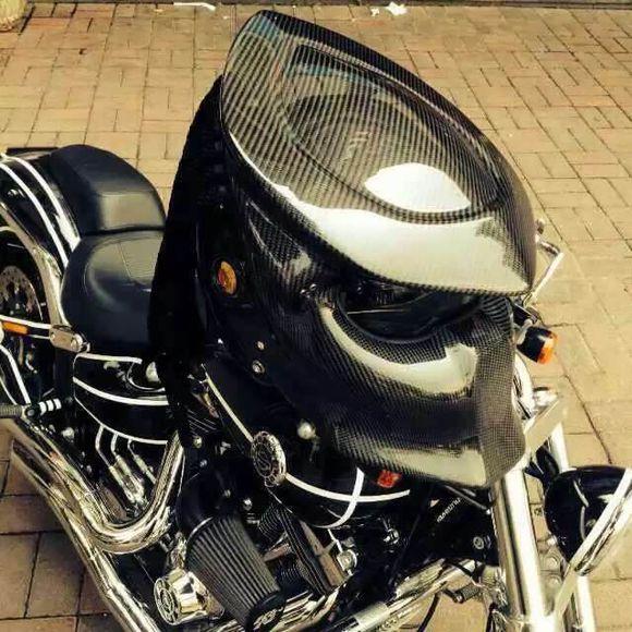 Predator de fibra de carbono moto rcycle casco hierro cara completa moto casco DOT Certificación de alta calidad claro colorido visera