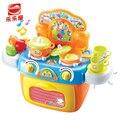 Chegada nova família cozinhar utensílios de cozinha toys simulação role-playing jogos interativos de cozinhar brinquedo macho menina