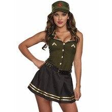 Ladies Top Gun Officer Costume Womens 80s Pilot Uniform Fancy Dress Outfit