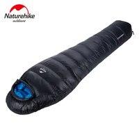 NatureHike Mummy Sleeping Bag Super light Outdoor Winter NH15D800 K