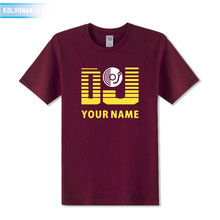 DJ Your Name Men's T-Shirt / 20 Colors