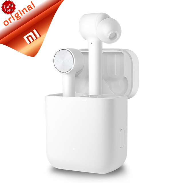 2019 Original Xiaomi Air TWS Headset Bluetooth Wireless Stereo Earphone ANC Switch ENC Auto Pause Tap Control Airdots Pro