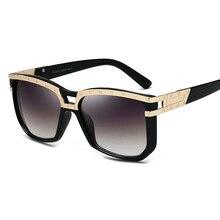 2018 Retro Dos Óculos De Sol Das Mulheres Dos Homens Espelho de Condução  Óculos de Sol Quadrado UV400 Alta Qualidade Marca Shade. 050670bd0f