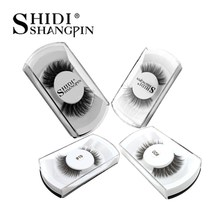 New 10 pairs 3d mink lashes false eyelashes natural long eye lashes handmade lashes extension 10 boxes makeups maquillaje cilios