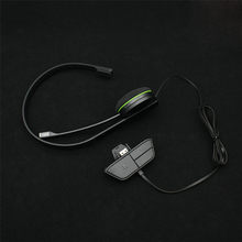 Black Replacement Wired Chatting Gamer Headset Headsets Headphone With Mic For XBOX One Gaming