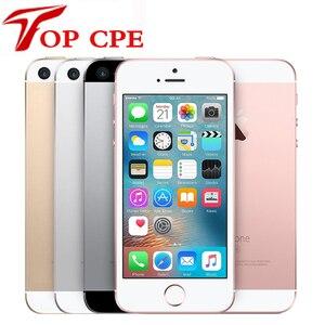 Оригинальный разблокированный Apple iPhone SE мобильный телефон 4G LTE Touch ID WIFI 4,0 дюйма 12 МП 2 Гб ОЗУ 16 ГБ 32 ГБ 64 ГБ 128 ГБ б/у смартфон