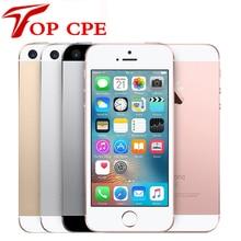 SE Оригинальный Разблокирована Apple, iPhone SE Мобильного Телефона 4 Г LTE Мобильный Телефон Dual Core 4.0 «12MP A9 iOS 2 Г ОЗУ 16/64 ГБ ROM Смартфон