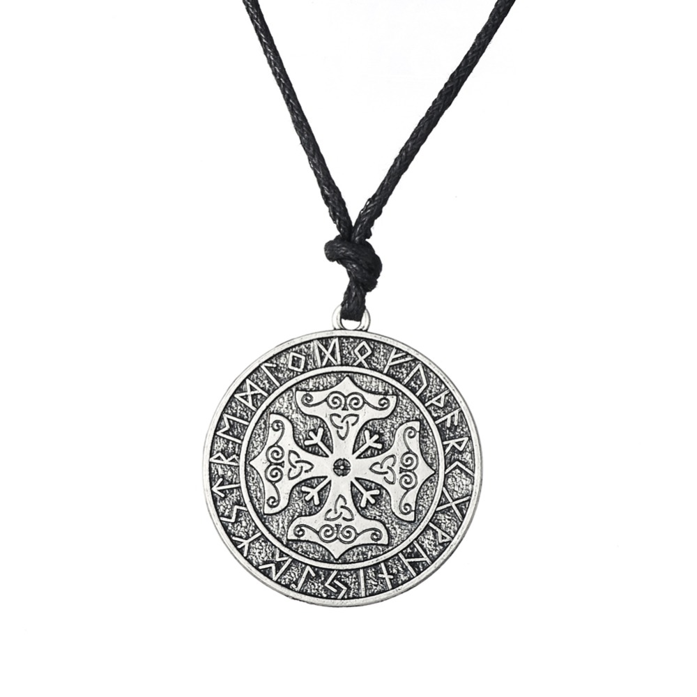 Dawapara Valknut Odin's Symbol of Norse Cross Runes Jewelry Warrior - Fashion Jewelry - Photo 6