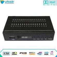 Vmade 2018 Neueste Schwarz VOLLE HD Digitale DVB ATSC F01 Satellite receiver TV Tuner Ausstehend MPEG4 Tuner SET TOP BOX media Player
