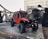 Handmade fine workmanship 1:24 RC crawler gk24 climbing mofification car Modified model car for Wrangler