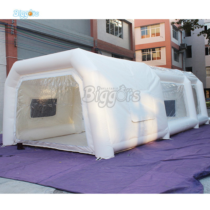 все цены на Hot Sale Inflatable Car Spray Booth Inflatable Spray Booth Tent With Blowers
