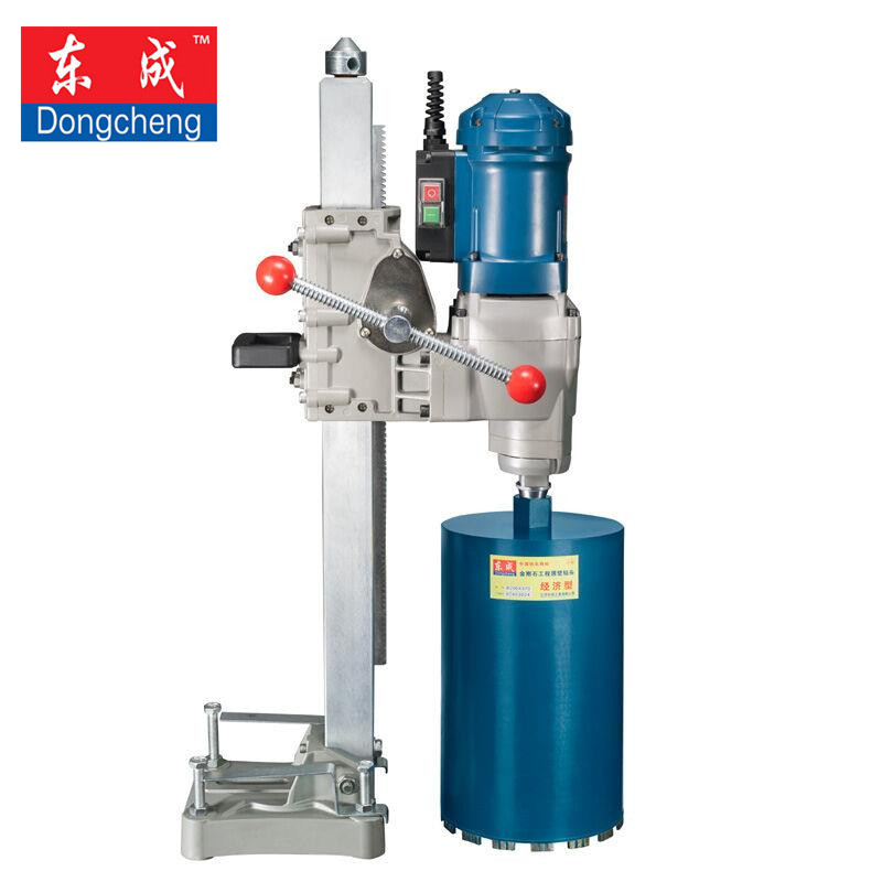 250mm Diamond Core Drill With Water Source (Vertical) 3800W High Power Diamond Drill 2 Speed (Excluding Diamond Core Bits)
