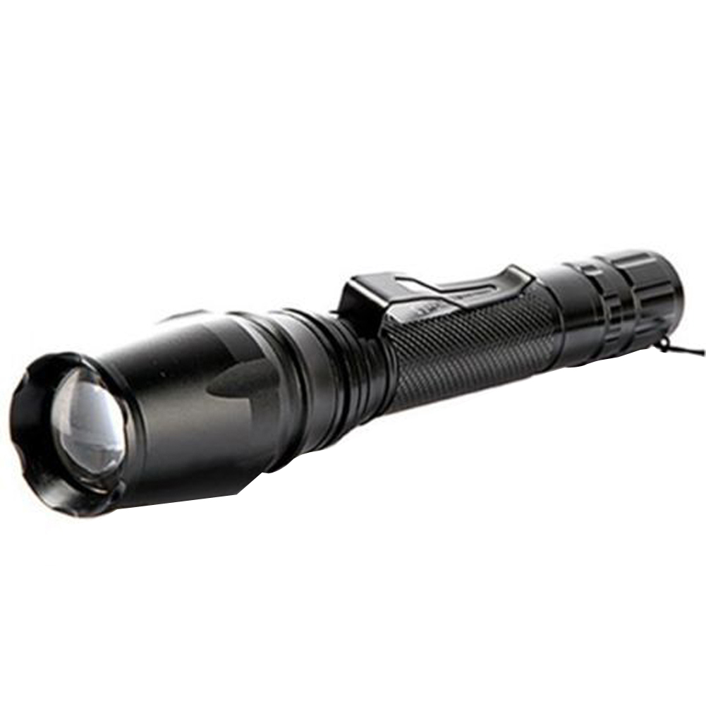 Super Bright XM-L T6 LED Flashlight 3000 Lumen Zoomable Waterproof Flashlights 5 Modes Torch Lamp For Camping Hiking Fishing super bright tactical 3 modes 18000 lumen 9x xm l l2 led powerful flashlight torch for hiking camping hunting battery charger
