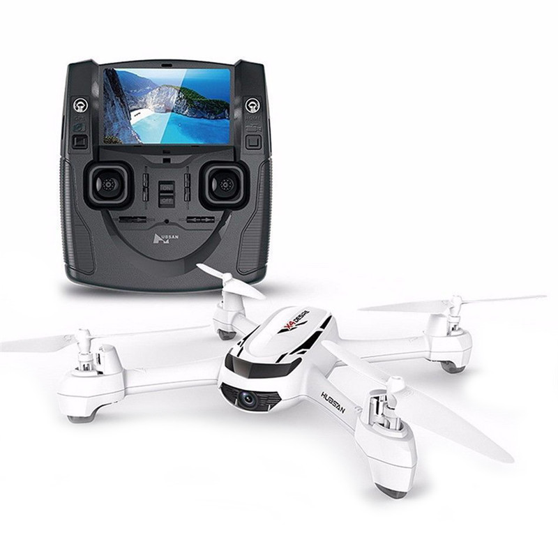 JJRC Hubsan X4 H502S 4-axis Copter 5.8G GPS Quadcopter Drone with 720P HD Camera RTF 2.4G FPV Transmitter 4.3