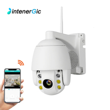 IntenerGic HD 1080P WiFi IP Camera Wireless Wired PTZ Outdoor Speed Dome CCTV Security Camera App camhi support Two Way Audio two way intercom ip camera support wireless alarm 433mhz rf sensor 720 960 1080p optional