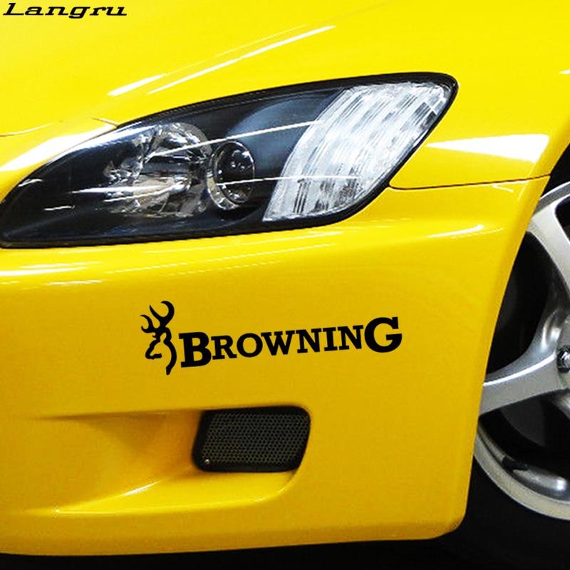 Browning Hunting Vinyl Decal Sticker Car Truck Window