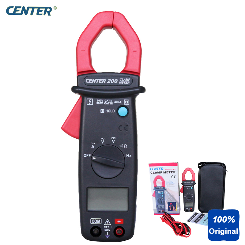 High Speed Bargraph Pocket Size Mini AC Clamp Meter Resolution 0.01A, 0.1V CENTER-200