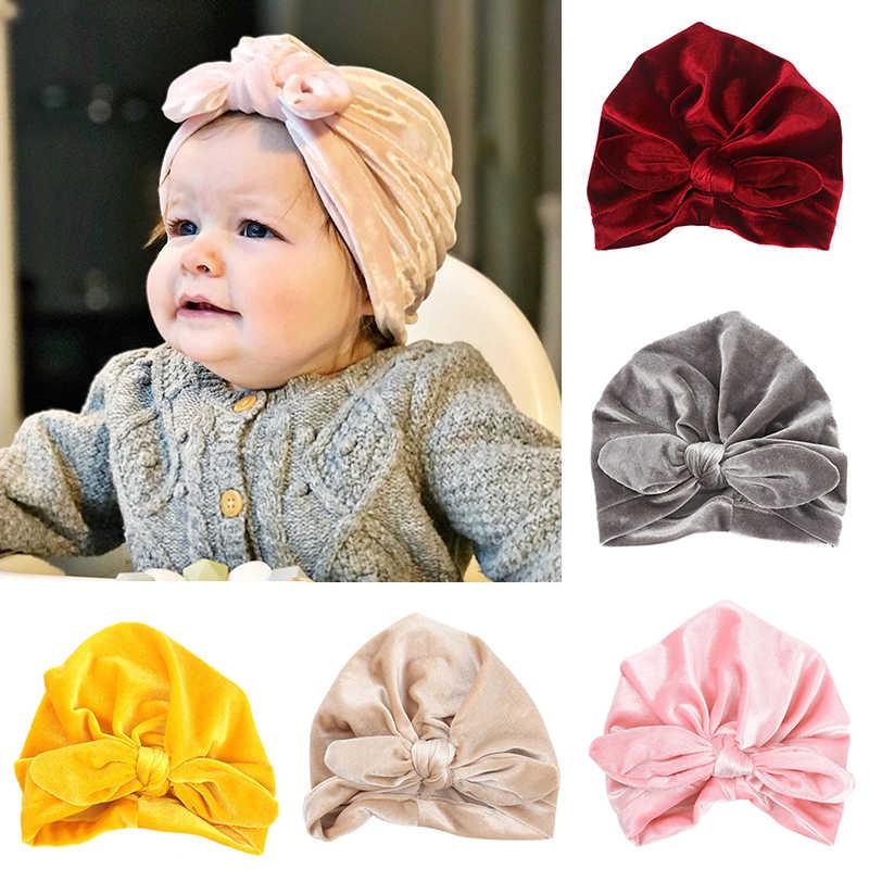 e4e62359dd8 Detail Feedback Questions about REAKIDS Baby Hat Bonnet Infant Newborn New  Spring Autumn Infant Cotton Ears Hat Knot Cap Bow Boys Girls Unisex Solid  Colors ...