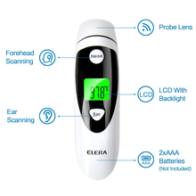 Non-contact Ear & Forehead LCD Digital Infrared Thermometer