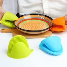 1 шт кухонные микроволновые изоляционные анти-Горячие силиконовые пальчиковые наборы Кухонные аксессуары посуда противоскользящие гаджеты домашние кухонные инструменты. Q