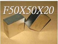 50 50 20 N50 Magnets 50x50x20mm Craft Model Powerful Strong Rare Earth NdFeB Block Magnet Neodymium