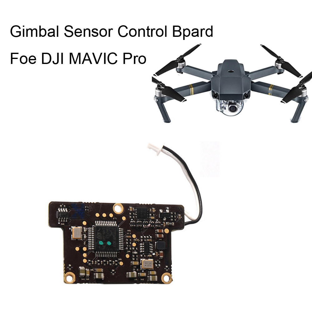 For DJI Mavic Pro Drone RC Gimbal Camera Forward Sensor Control Board 6J11 Drop Shipping silent disco complete system black folding wireless headphones quiet clubbing party bundle 2 headphones 2 transmitters