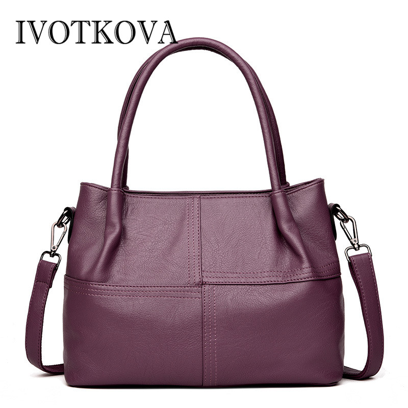 IVOTKOVA High Quality Women Bags Shoulder Bag Female Vintage Handbag Purse leather Messenger Bags For Ladies tote bolsa feminina sesderma алоэ гель hidraloe 250 мл