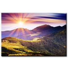 wholesale Landscape Series Poster Painting Custom Canvas Print On Printing Wall Pictures Home Decoration