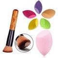 2PCS/set Makeup Set Kit Contour Foundation Makeup Brush Sponge Blender Cosmetic Puff Powder Blush brushes Make up Sponge Brushes