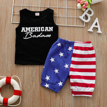 Cute Toddler Baby Boys Kids Casual Clothes T-shirt Tops+Pants Shorts Outfits Set