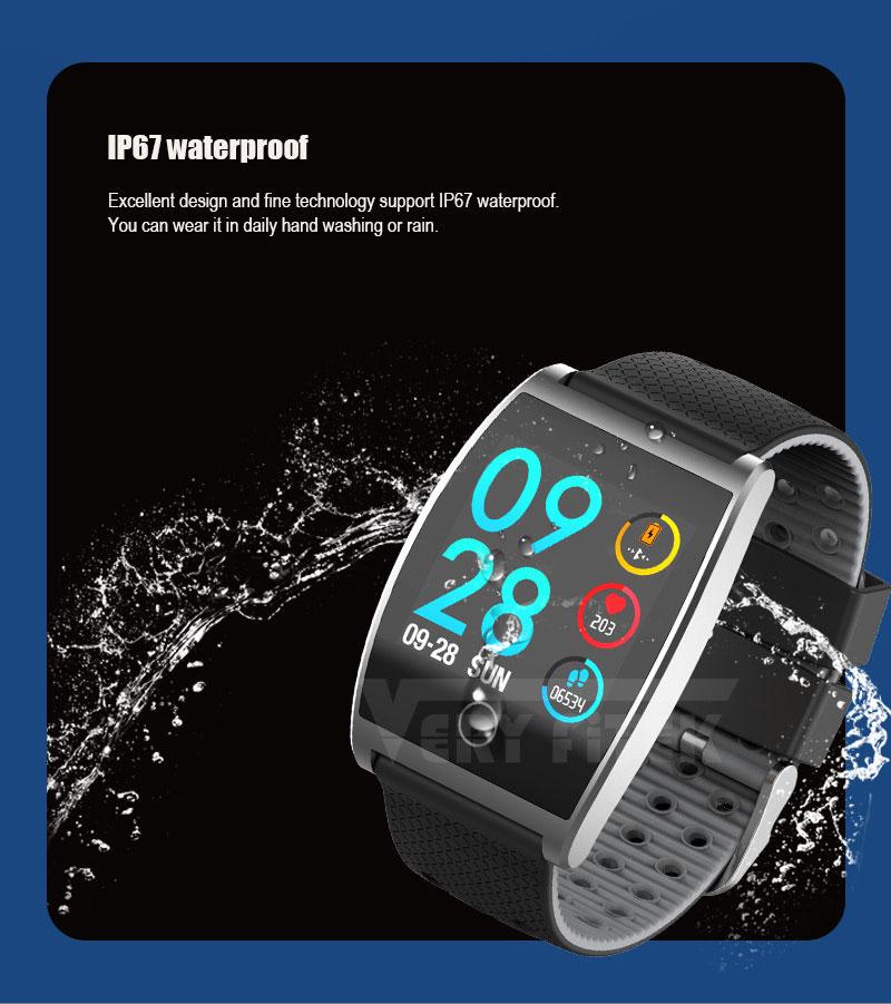 VERYFiTEK QS05 Smart Bracelet Watch Blood Pressure Oxygen Smart Band Heart Rate Monitor Wristband Pedometer Fitness Bracelets  (11)