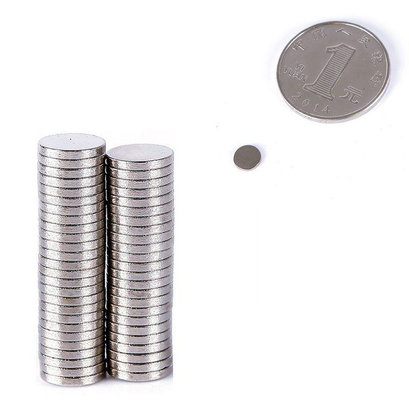 100Pcs 6mm X 1mm  Strong Cylinder Rare Earth Magnet Neodymium Bulk Sheet N35 Mini Small Round Magnets RZ 10pcs n50 mini super strong rare earth fridge permanent magnet small round neodymium magnet 12 x 1mm sy2