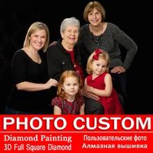 5D DIY Diamond Painting! Private custom! Photo Custom! Make Your Own Diamond Painting Full Drill Diamond Rhinestone Embroidery