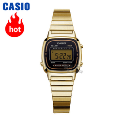 Casio horloge gouden vrouwen horloges topmerk luxe waterdichte quartz horloge vrouwen LED digitale sport dameshorloge  relogio feminino reloj mujer montre homme bayan kol saati zegarek damski LA680W