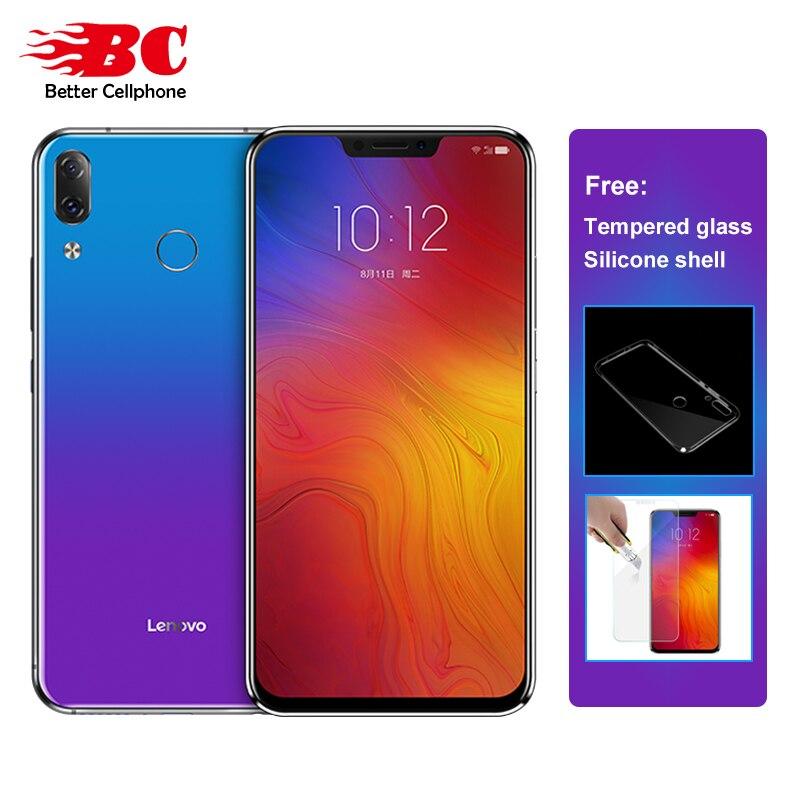 "Lenovo Z5 L78011 LTE Smartphone 6.2"" Snapdragon 636 Octa-Core 6GB RAM 64GB ROM Dual Rear Camera 16MP fingerprint ID Face ID OTG"