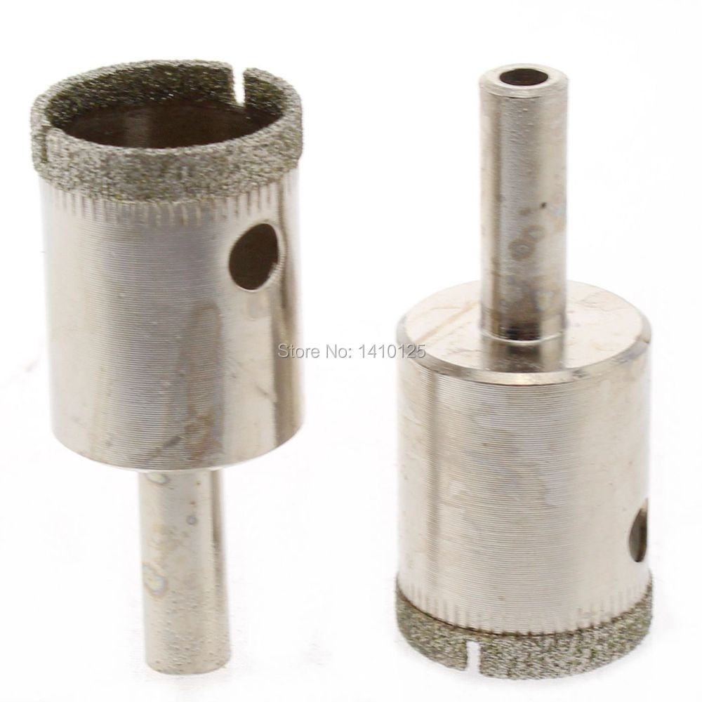 ᗖPcs Mm Inch Electroplated Diamond Hole Cutter Saw Core - 5 inch tile hole saw